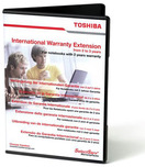 Toshiba Warranty Ext. from 2 to 3 years