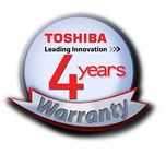 Toshiba Warranty Ext. EXT104I-V 2 to 4 years